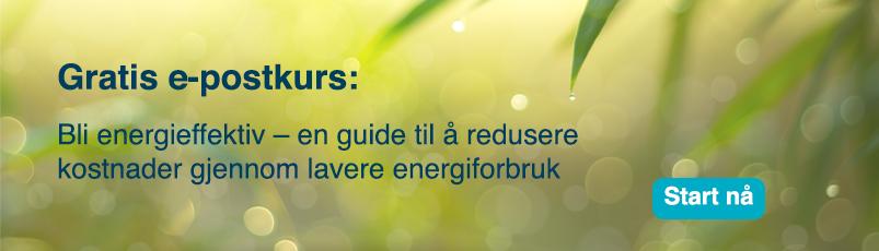 gratis e-postkurs bli energieffektiv: en guide til å redusere kostnader gjennom lavere energiforbruk