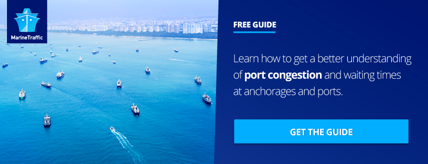 Free Guide Understanding Port Congestion MarineTraffic Banner