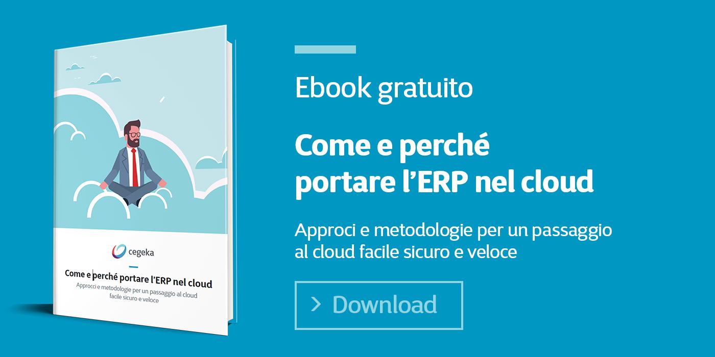 Come e perché portare l'ERP nel cloud