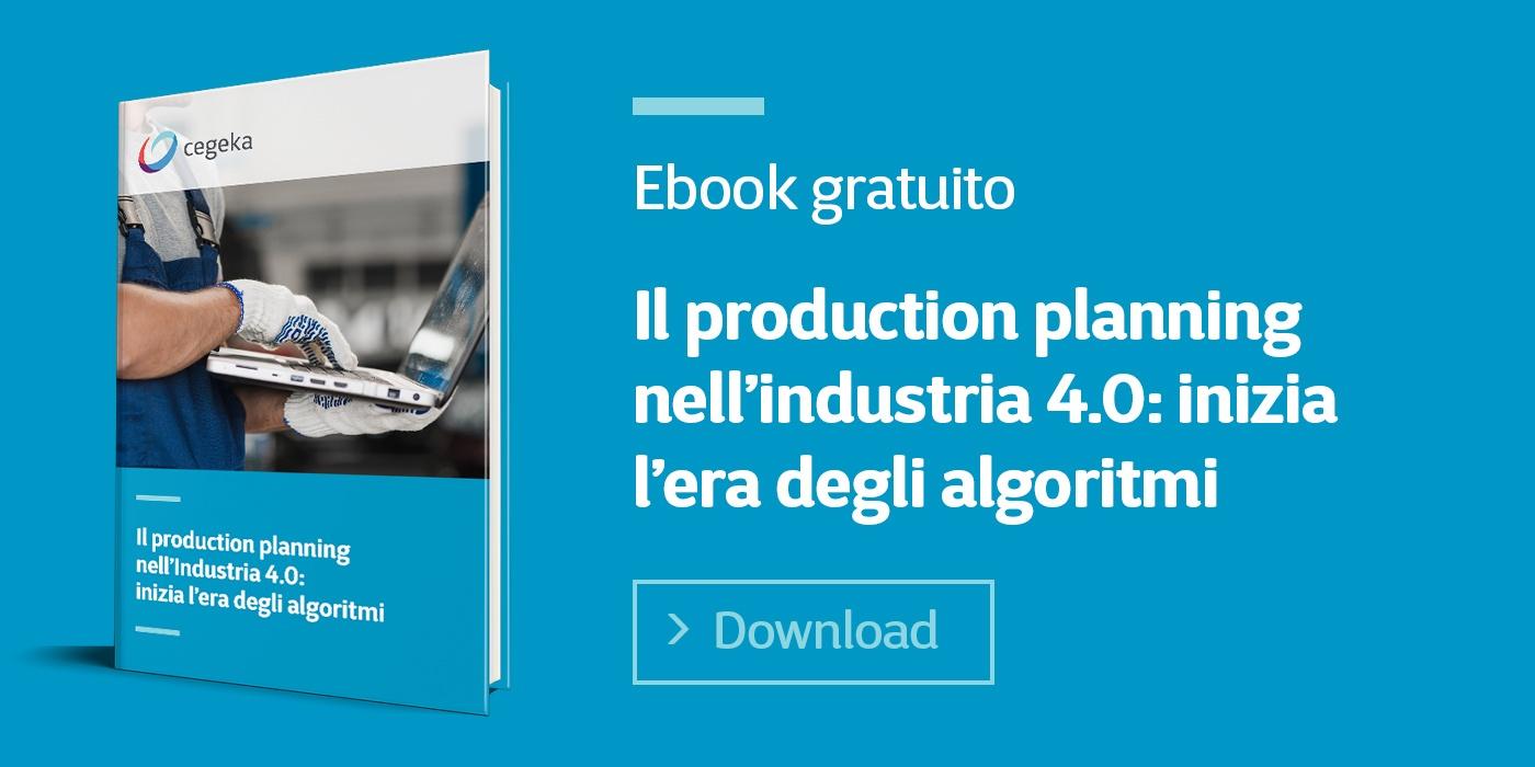 Cegeka | Il production planning nell'Industria 4.0: inizia l'era degli algoritmi