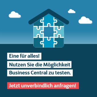 Cegeka Business Central testen