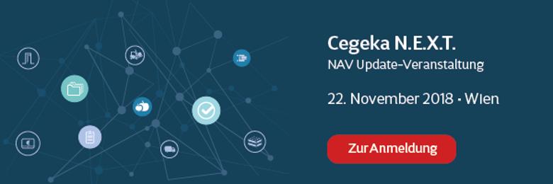 Cegeka NEXT am 22. November 2018