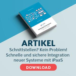 Cegeka Artikel Integration mit iPaaS