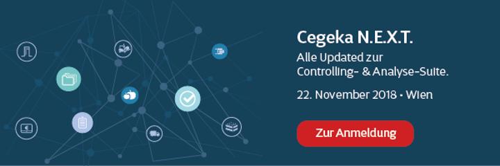 Die Controlling- und Analyse-Suite bei Cegeka NEXT am 22. November.