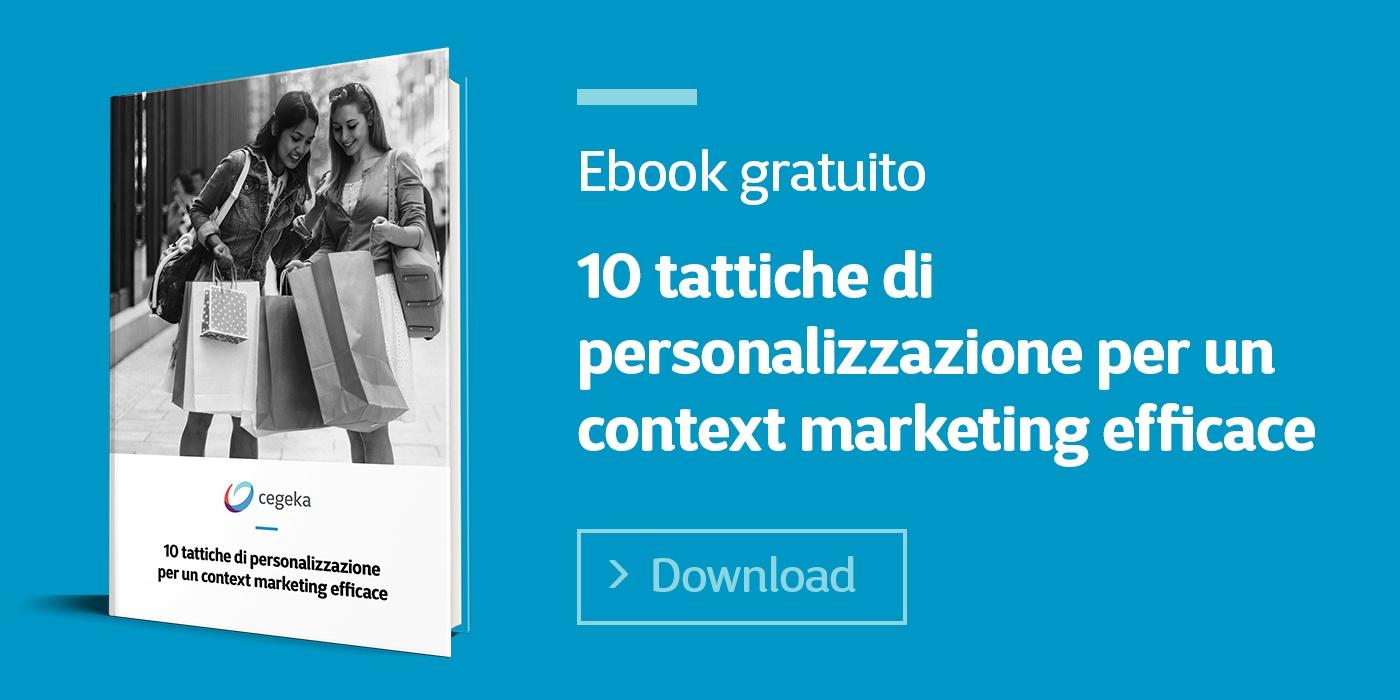 Cegeka | 10 tattiche di personalizzazione per un context marketing efficace
