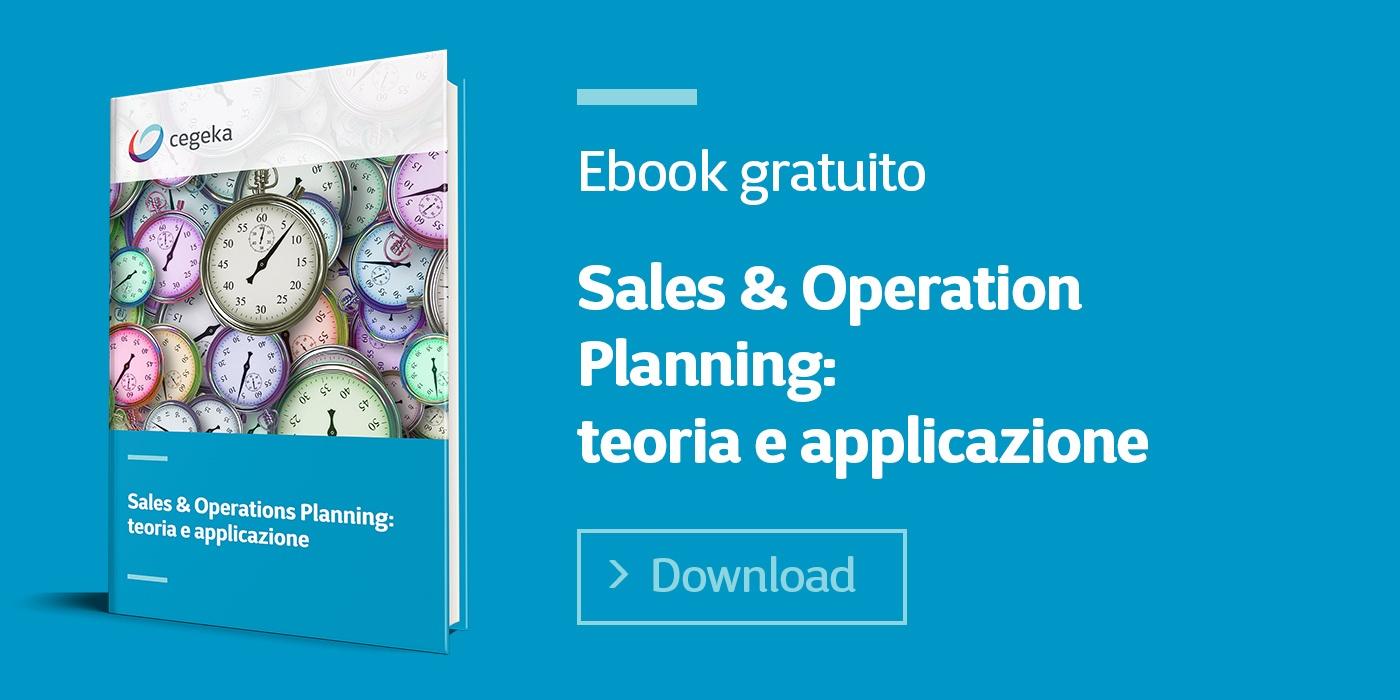 Cegeka   Sales & Operations Planning: teoria e applicazione