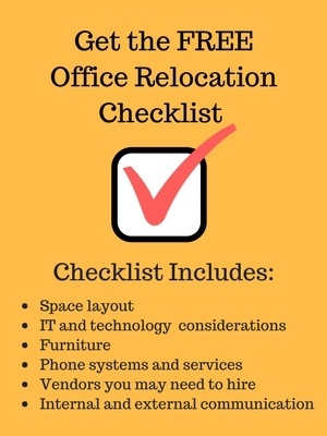 Get the Office Relocation Check List