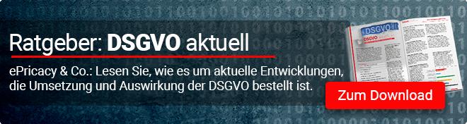 Zum Ratgeber DSGVO aktuell