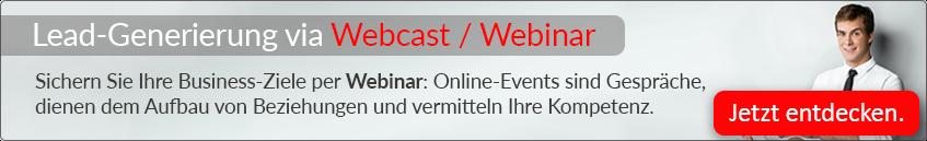 Jetzt unsere Webcasts entdecken!