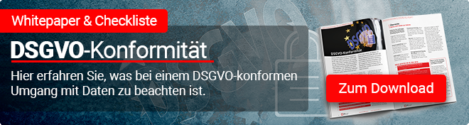 Zum Whitepaper DSGVO-Konformität