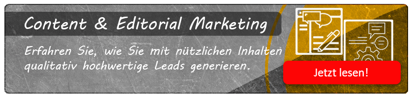 Content & Editorial Marketing