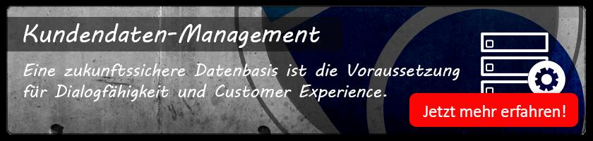 Kundendaten-Management: Jetzt mehr erfahren