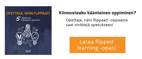 Lataa flipped learning -opas!