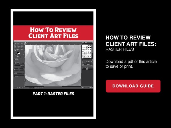 Free Download: How To Review Client Art Files