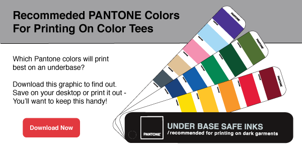 Download Recommended Pantone Colors For Printing On Dark Tshirts