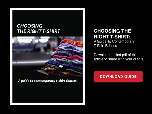 Choosing The Right T-shirt: A Guide To Contemporary T-shirt Fabrics