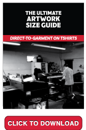 The Ultimate Artwork Size Guide - DTG on T-shirts