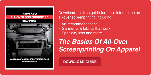 Download the Basics of All-Over Screenprinting on Apparel
