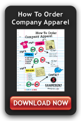 how to order company apparel