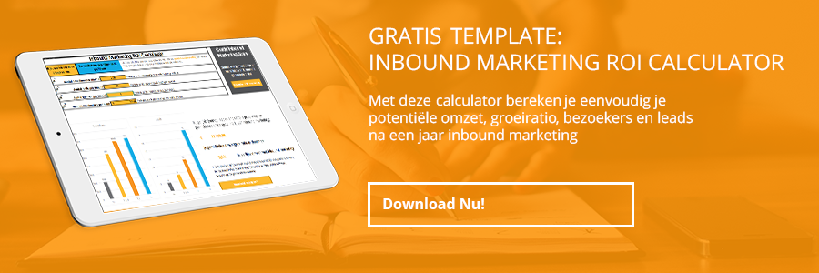 inbound marketing roi calculator cta
