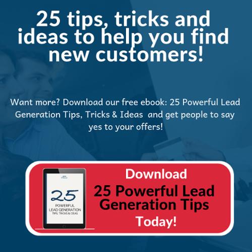 25 lead generation tips trick ideas ebook