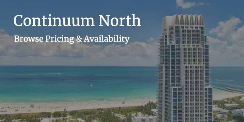 Continuum North for Sale Miami Beach