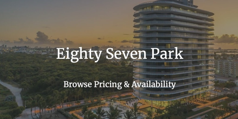 87 Park Condominio frente al mar en Miami Beach
