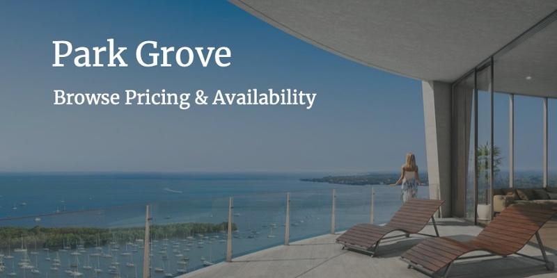 Park Grove Eigentumswohnungen zum Verkauf & zur Miete
