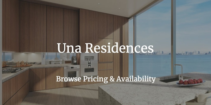 Una Residences prices