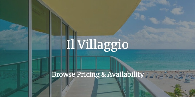 Il Villaggio Miami Beach for Sale