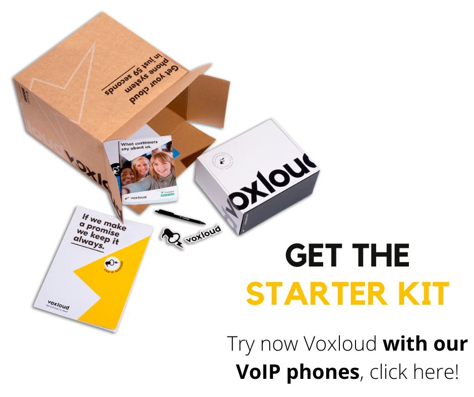starter kit voxloud english