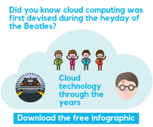 Cloud technology through the years
