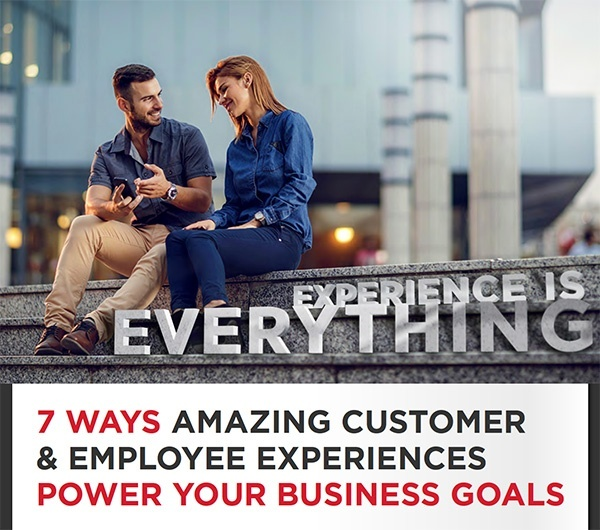 Telefonix Avaya Customer Experience Infographic