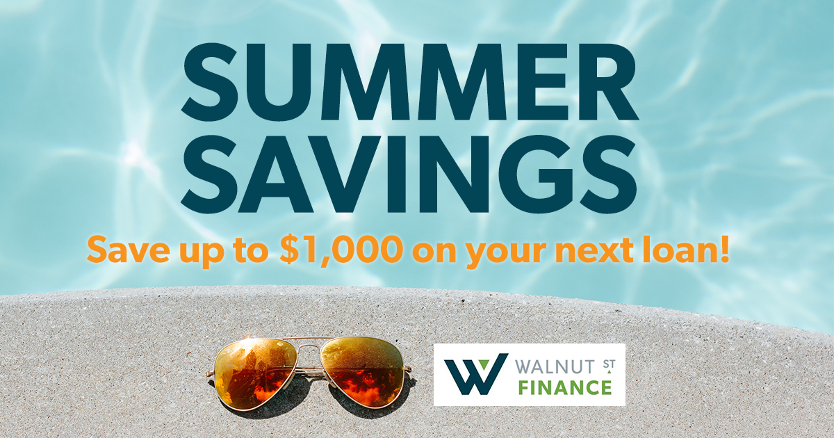 Save up to $1,000 on your next loan!