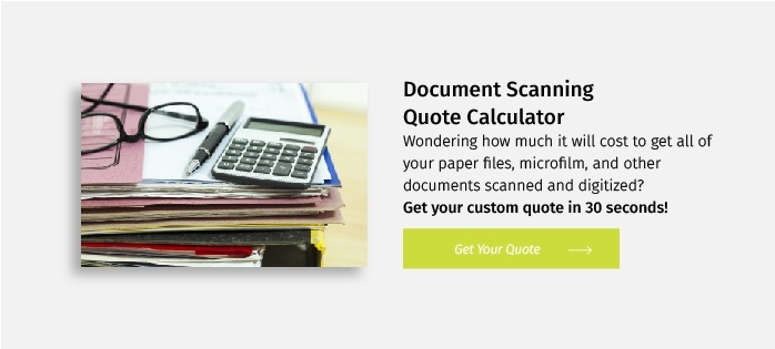 Document Scanning Quote Calculator