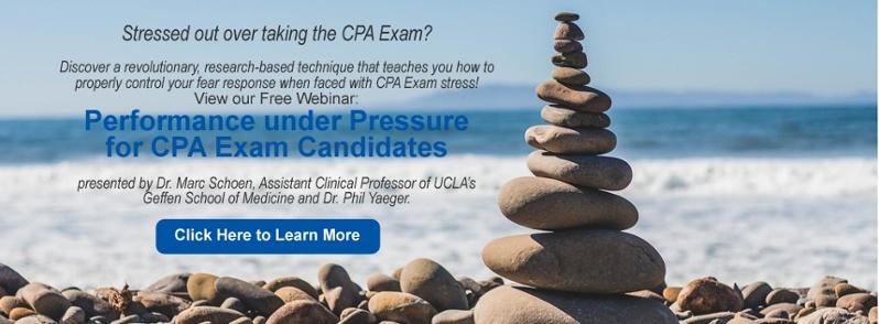 CPA Exam Stress Webinar CTA