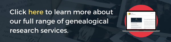 Click here to learn more about our full range of genealogical research services.
