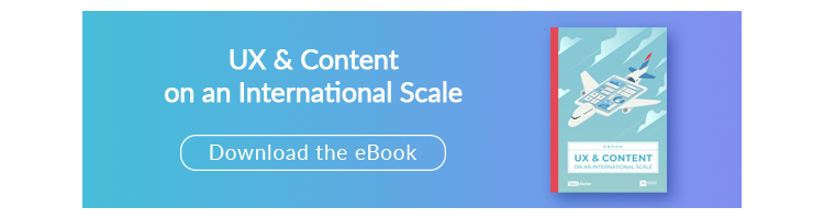 UX & Content on an International Scale