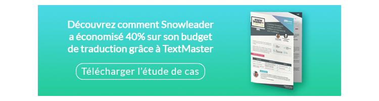 Découvrez comment Snowleader a économisé 40% sur son budget de traduction grâce à TextMaster
