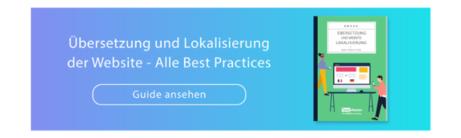 Best Practices zur Übersetzung und Lokalisierung der Website