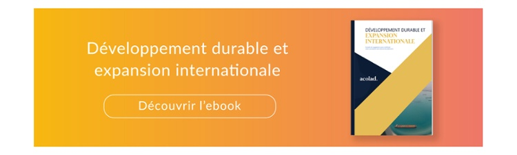 Développement durable et expansion internationale