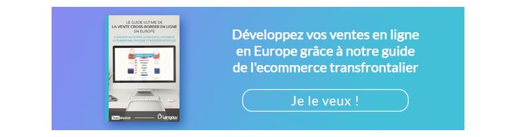 Développer vos ventes en ligne en Europe grâce à notre guide de l'e-commerce transfrontalier