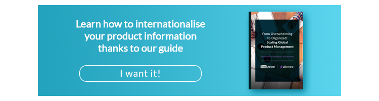 Learn how to internationalize your product information thanks to our guide