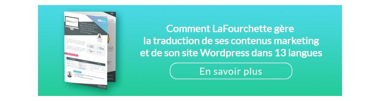Comment LaFourchette gère la traduction de ses contenus marketing et de son site WordPress dans 13 langues