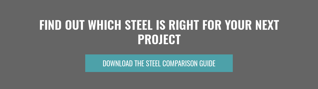 Find Out Which Steel Is Right For Your Next Project Download The Steel Comparison Guide
