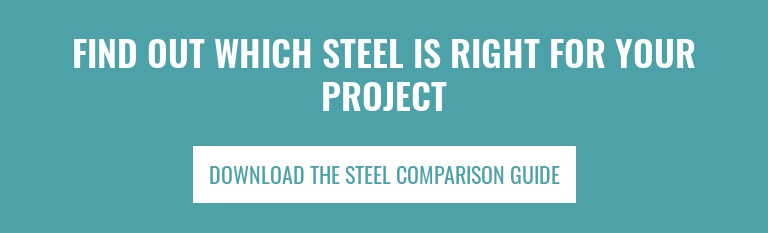 Find Out Which Steel Is Right For Your Project Download The Steel Comparison Guide