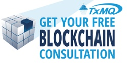 Free Blockchain Consultation TxMQ Birthday Celebration Image