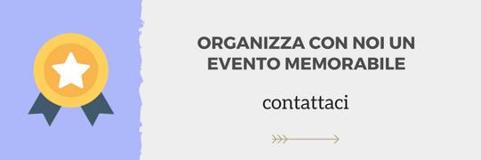 organizza un evento memorabile