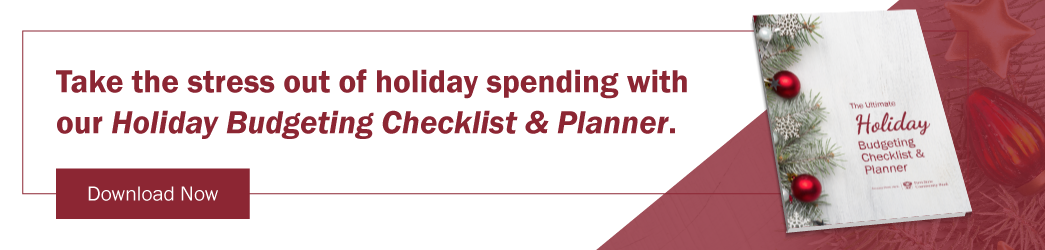 Download The Ultimate Holiday Budgeting Checklist & Planner