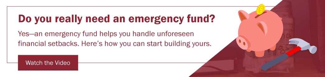 Watch the Video: 4 Tips for Building an Emergency Fund Savings Account